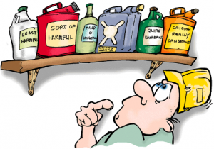 storing chemicals